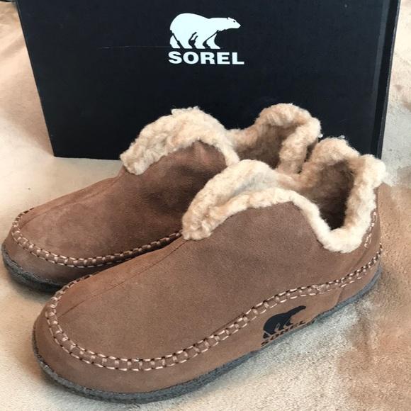 b430b90de48d Sorel men s Manawan slippers. M 5c2f9584de6f62dcadb66bc3